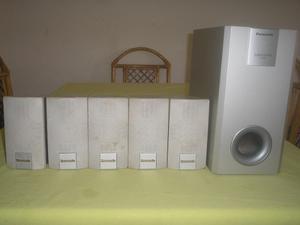 Remato Cornetas De Home Teather Panasonic Precio Negociable