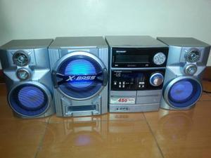 Vendo Equipo De Sonido Sharp 450 Watts Por Motivo De Viaje