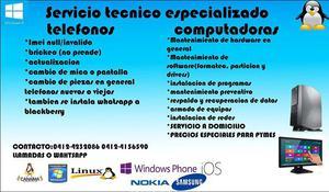 servicio tecnico especializado a domicilio