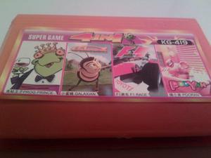 Cassette De Juegos 4 En 1 Super Game Para Nintendo Asiatico