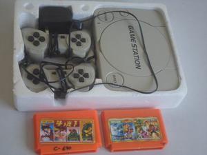 Consola De Juegos De Video Gamestation Mas Dos Juegos