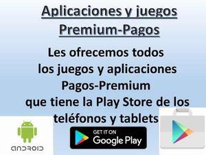 Juegos Aplicaciones Android Pagos Premium Play Stor