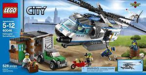 Lego City  Helicóptero De Policía 528 Pzs