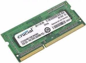 Memoria Ram 2gb Ddrmhz Para Laptop