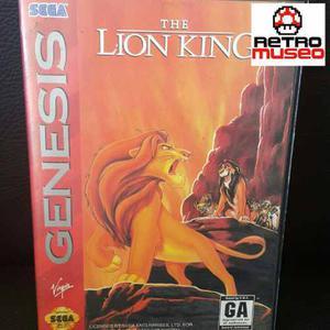 The Lion King Para Sega Genesis