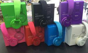 Audífonos Mp3 Sony Wa Radio Fm Micro Sd