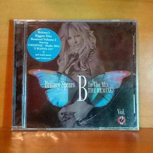 Britney Spears B In The Mix The Remixes 2 Cd Original Nuevo