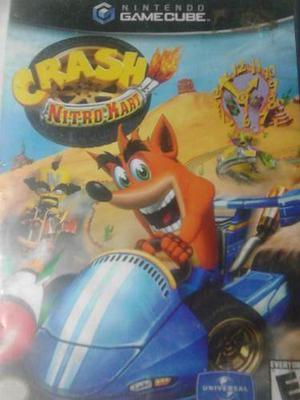Juego Crash Nitro Kart Para Nintendo Gamecube