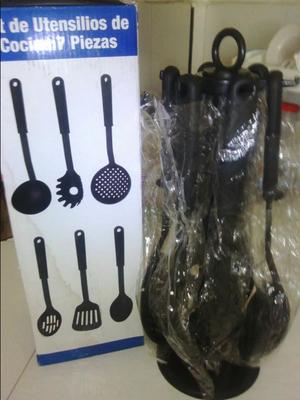 Kit de utensilios de cocina de 7 piezas