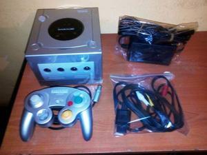 Nintendo Gamecube Con Sus Cables 1 Control Y 1 Juego Garanti