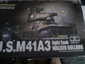 Tanque U.s.m41a3 Radio Control Escala 1/16