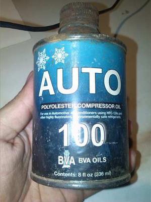Aceite Para Compresores De Refrigeración 134a 8oz