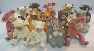 Antigua Coleccion De Figuras Parmalat! 14 Piezas!! Oferta!!