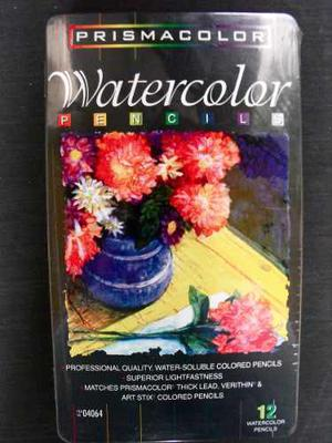 Creyones Prismacolor Watercolor 12 Colores