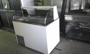Exhibidor Congelador Vidrio Curvo Nuevo Con Garantía