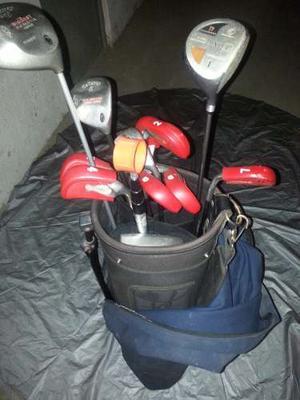 Juego De 14 Palos De Golf Ping Con Maleta Y Forro De Viaje
