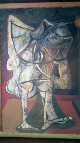 Oleo De Pablo Picasso, Titulado La Pareja