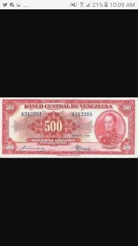 Billetes De Coleccion Venezuela Vendo Avaluo
