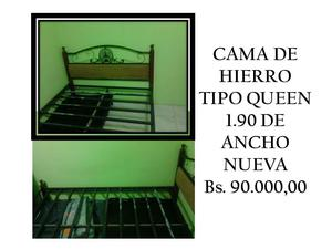 Cama queen x m totalmente nueva modernos deco2 posot class for Tipos de camas queen