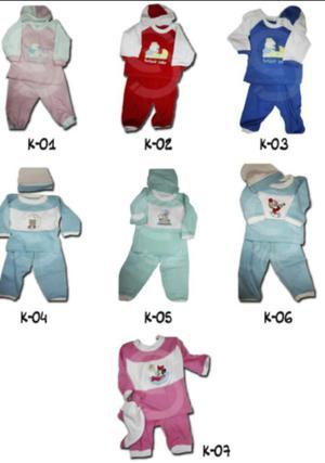 Conjuntos de Bebes 3 Piezas Ropa de Bebe