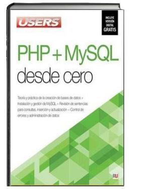 Libro Digital Php + Mysql Desde Cero - Users Original Pdf