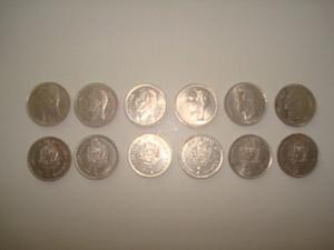 Lote De Monedas De 1 Bs  Y 90 (niquel)