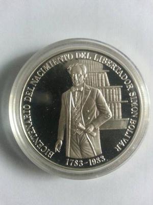 Moneda Bicentenaria Del Nac. Del Libertador. Impecable.