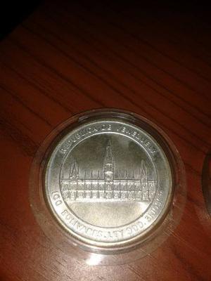 Moneda Conmemorativa Plata 100 Bs Jose María Vargas