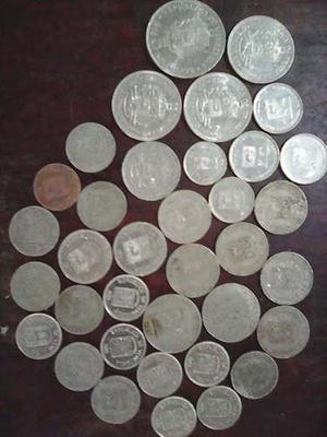 Monedas Venezolanas De Coleccion Antiguas 41 Piezas