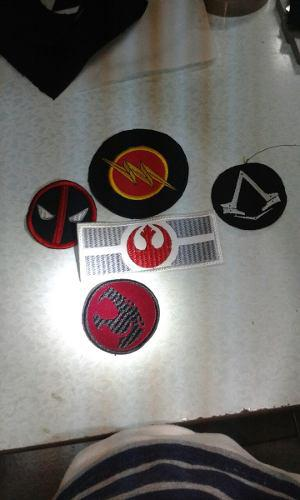 Parches Avengers Flash De Ad Polo Star Wars Assassins Cred