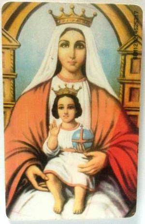 Tarjeta Cantv Usada  Oración A La Virgen De Coromoto