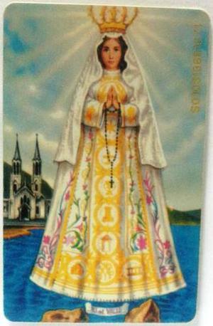 Tarjeta Cantv Usada Oración A La Virgen Del Valle 2