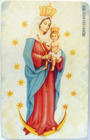 Tarjeta Cantv Usada Oración A Nuestra Señora De