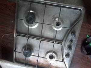 Tope italiano de acero inoxidable usado marca challenger