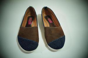 Zapatillas Cocuizas de Jean y Gamuza Talla 36