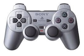 Control Dualshock Playstation 2 Plateado Presentacion Bolsa