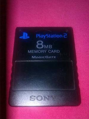 Memory Card Playstation 2, Sony De 8mb