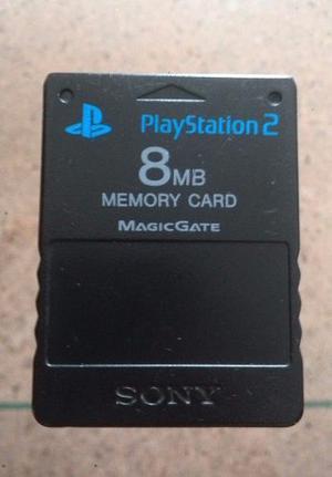 Memory Card Playstation 2 Usada 8mb