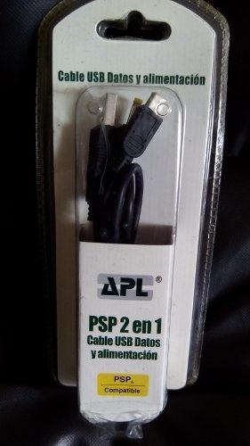 Oferta Cable 2 En 1 Usb Datos Y Alimentacion Para Psp Compat