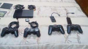 Play Station 2 En Perfectas Condiciones Y 4 Controles