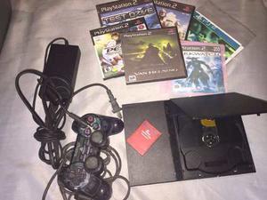 Playstation 2 A La Venta (tiene El Lente Dañado Poco Uso)