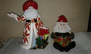 Adornos De Navidad En Ceramica