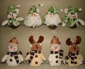 Adornos Muñecos Arbolito De Navidad Peluches Santini