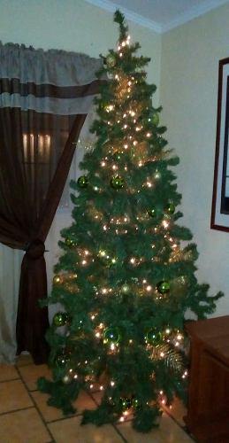 Arbol De Navidad 2.30mts + Guirnalda Circular