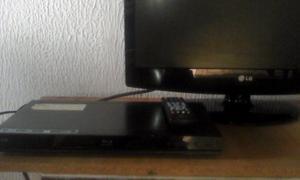 Blu Ray Marca Lg Con Cable Hdmi Y Control