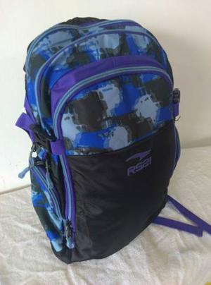 Bolso Morral Rs21 Porta Laptop Mod. Running Con Envió