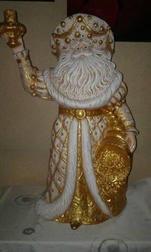 Espiritu De La Navidad En Ceramica De 65 Cm