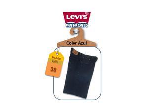 Pantalones Jeans para caballeros marca Levis Usados