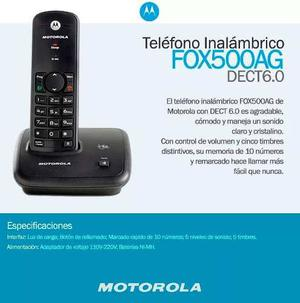 Telefono Inalambrico Motorola Digital Fox 500