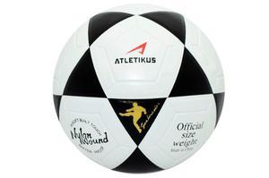 Balon De Futbol N5 Venus Atletikus (blanco/negro)